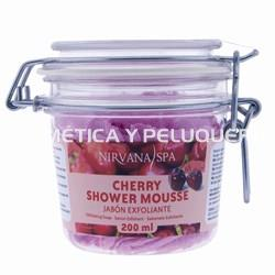 Cherry shower mousse, 200ml. - Imagen 1