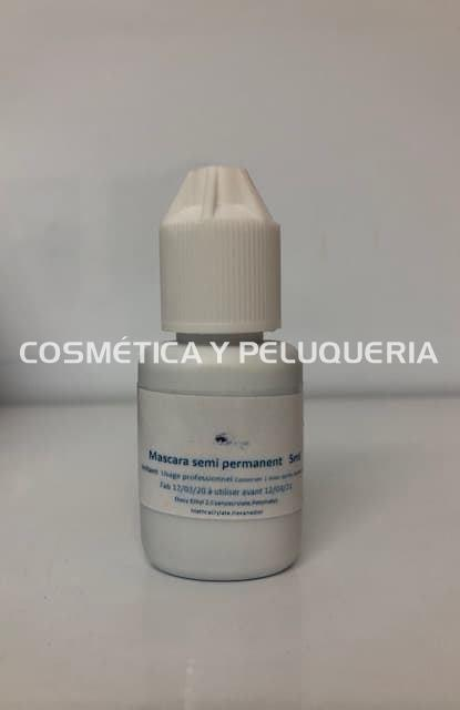 Máscara pestañas semi permanente, 10ml.