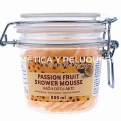 Passion fruit shower mousse, 200ml. - Imagen 1